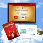 Custom Cloud Nine Christmas / Holiday CD Download Card - CD490 Joy to the World/ CD306 Holiday Jazz
