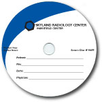 Custom 700MB CD-R Stock Graphics - Professional Graphic w/ Contrast Accent