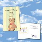 Custom Cloud Nine Baby Lullabies Download Greeting Card - KD04 Lullabies for Baby & Mom/KD08 Sweet Dreams