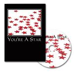 Custom You're A Star Greeting Card with Matching CD