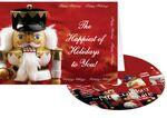 Custom Nutcracker Happy Holidays Greeting Card with Matching CD