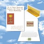 Custom Cloud Nine Birthday Music Download Greeting Card w/ To A Very Special Person