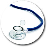 Custom 700MB CD-R Stock Graphics - Medical/ Stethoscope Graphic