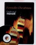 Custom Fireside Christmas DVD
