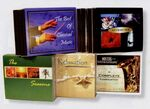 Custom Music Gift Set 4 Holiday CDs - Best Wishes (Gold)