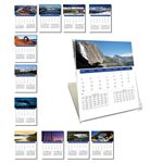Custom 2017 Desk Jewel Case Calendar - Scenic America
