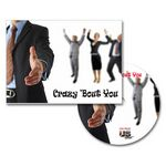 Custom Crazy 'Bout You Greeting Card with Matching CD
