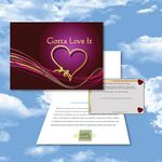 Custom Cloud Nine Valentine's Day/Love Music Download Greeting Card