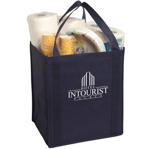 Large Non-Woven Grocery Tote Bag