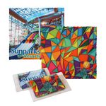 Sublimated Microfiber Cleaning Cloth w/Case