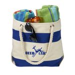 Custom 16 Oz. Portsmouth Cotton Canvas Boat Tote