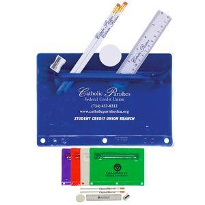 Translucent Deluxe School Kit-Imprinted Contents