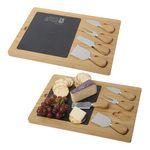 Custom Slate Cheese Board Set