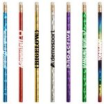 Custom Jo-Bee Prismatic Foil Wrap Pencil