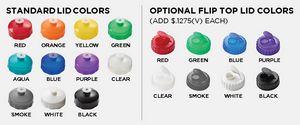 Lid Colors