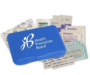 Custom Printed American Made First Aid Kits!