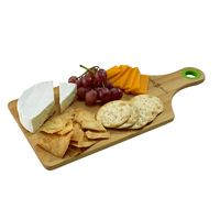 Bamboo Cheese Board w/Silicone Ring