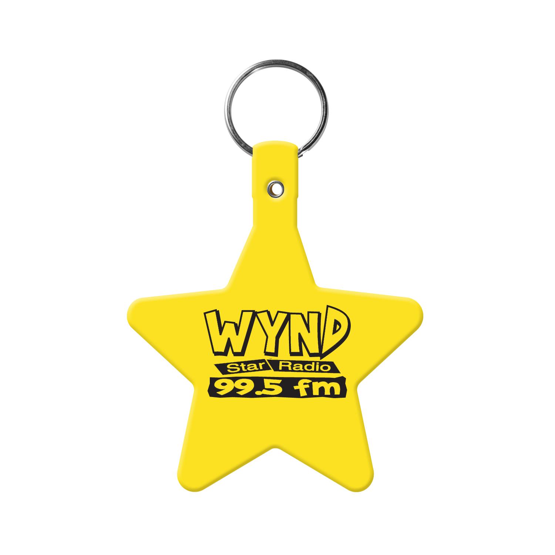 Star Flexible Key Tag