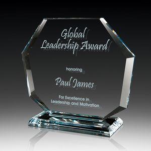 Octet Glass Crystal Award