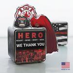 Custom Firefighter Hero Cube