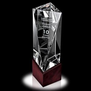 Large Optic Balboa Crystal Award