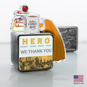 Teacher Hero Cube