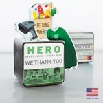 Custom Food Industry Hero Cube