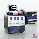 Custom Law Enforcement Hero Cube