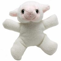 """3"""" Lamb Magnet"""