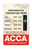 Refrigerator Temperature Tester Card
