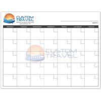 Small Dry Erase Wall Calendar