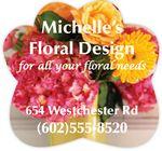Full Color Magnet (2.5 x 2.375) Flower