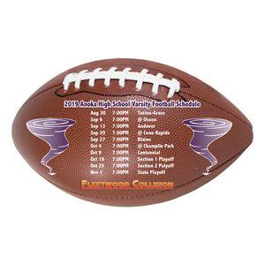 Full Color Magnet (3.625x6) Football Shape