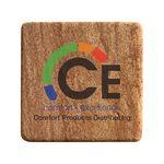 Square Stone Coasters w/Cork Back (3.5