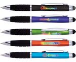 Custom Eclaire (TM) Bright Illuminated Stylus Pen