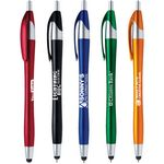 Custom Javalina (TM) Metallic Stylus Pen ( US Pat. 8,847,930 & 9,092,077)
