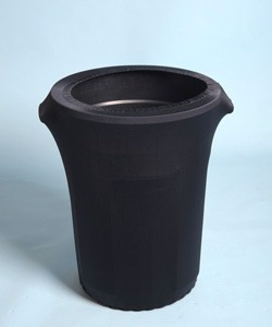 Spandex 55 Gallon Trash Can Covers with Dye Sublimation