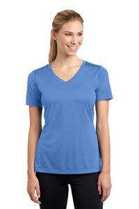 Sport-Tek PosiCharge Ladies Competitor V-Neck Tee Shirt