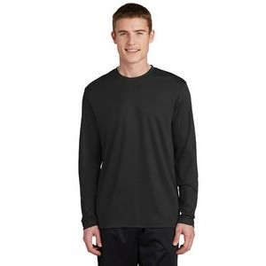 Sport-Tek® Men's PosiCharge® RacerMesh® Long Sleeve Tee