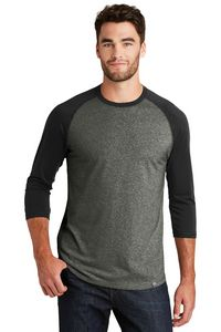 New Era Heritage Blend 3/4 Sleeve Baseball Raglan Tee Shirt