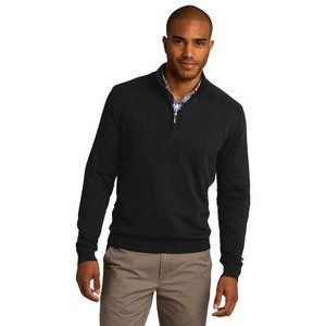 Port Authority® Men's 1/2-Zip Sweater
