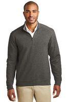 Port Authority® Men's Interlock 1/4-Zip Sweater