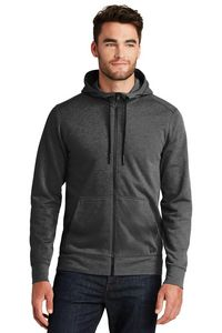 New Era® Tri Blend Fleece Full Zip Hoodie 355491424