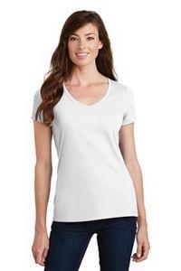 Port & Company Ladies Fan Favorite V Neck Tee Shirt