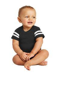 Rabbit Skins Infant Football Fine Jersey Bodysuit