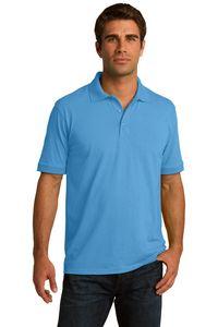 Port & Company Mens Core Blend Jersey Knit Polo Shirt