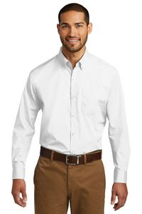 Port Authority Long Sleeve Carefree Poplin Shirts