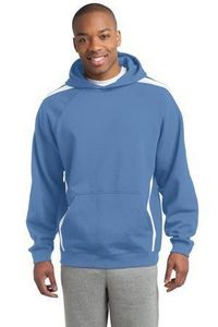 Tall Sport-Tek Sleeve Stripe Pullover Hooded Sweatshirt