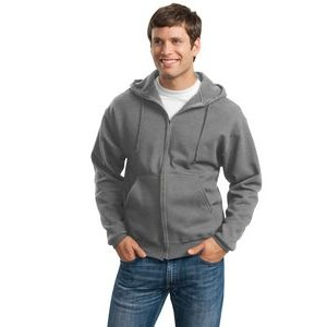 Jerzees® Men's Super Sweats® NuBlend® Full-Zip Hooded Sweatshirt