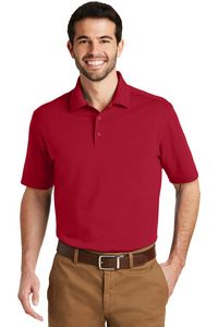 Port Authority Mens Superpro Knit Polo Shirt